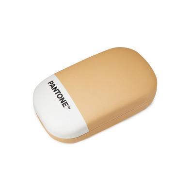 alvi Caja multiusos Pantone Color naranja Ideales para lentes de contacto, como pequeño joyero y par