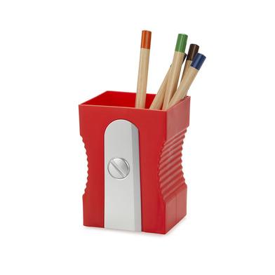 alvi Portalápices Sharpener Color rojo Mantén tu escritorio organizado Portalápices original y diver