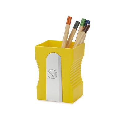 alvi Portalápices Sharpener Color amarillo Mantén tu escritorio organizado Portalápices original y d