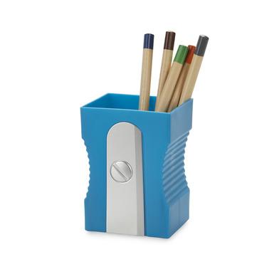 alvi Portalápices Sharpener Color azul Mantén tu escritorio organizado Portalápices original y diver