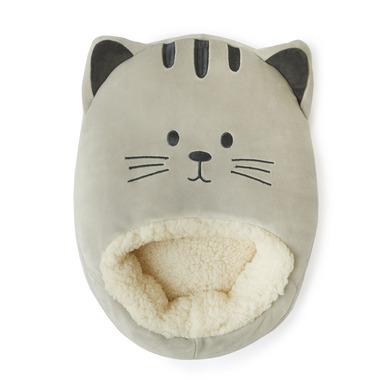 alvi Calienta pies Kitty Color gris Mantén calientes tus pies Bolsa suave y cómoda con diseño divert