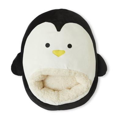 alvi Calienta pies Pingu Color negro Mantén calientes tus pies Bolsa suave y cómoda con diseño diver