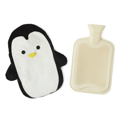 alvi Bolsa agua caliente Pingu Color negro Botella de agua caliente con cubierta suave en forma de p