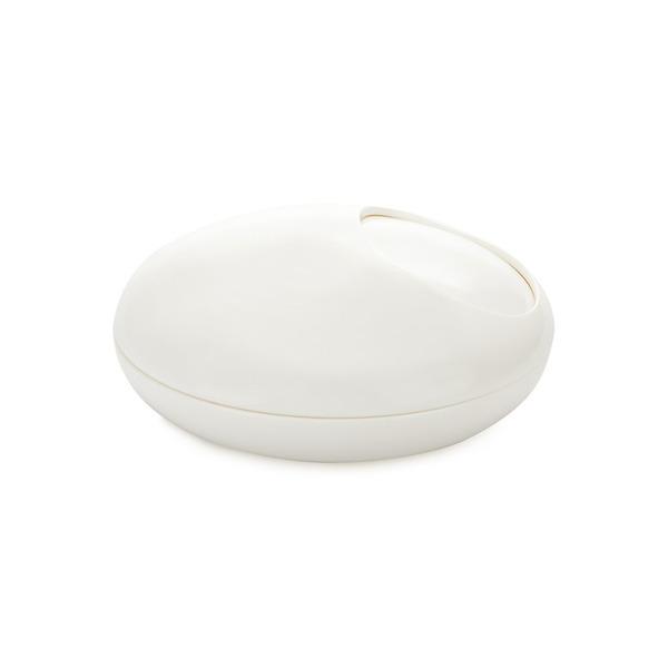 Balvi - Cenicero Pebble blanco melamina