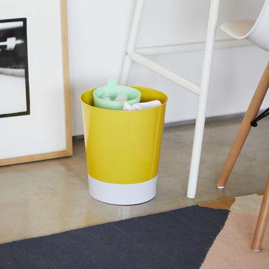 alvi Papelera MrRecycle Color verde Recipiente auxiliar para separar residuos domésticos Se puede co
