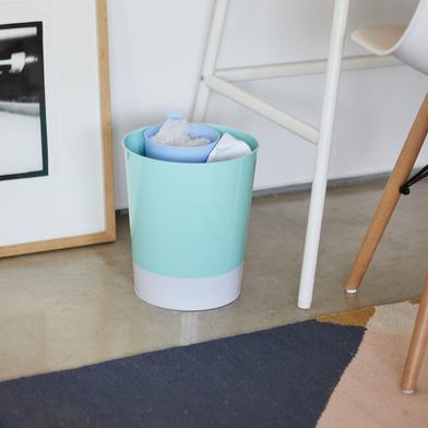 alvi Papelera MrRecycle Color azul Recipiente auxiliar para separar residuos domésticos Se puede col