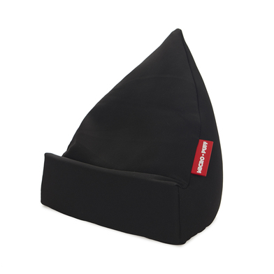 alvi Tablet holder Micro Puff Black colour Cushion tablet, smartphone, e-books Desenfundable Cotton