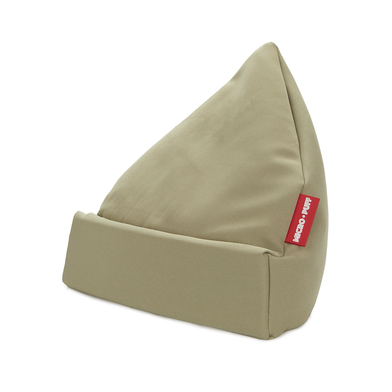 alvi Tablet holder Micro Puff Green colour Cushion tablet, smartphone, e-books Desenfundable Cotton