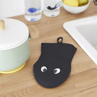 Balvi Manopla cocina Viper Color negro Manopla para cocina Resistente al calor 250ºC Neopreno