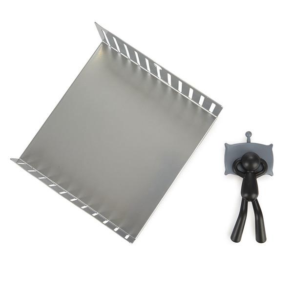 alvi Portatovaglioli Nap Colore Argento / nero letto a forma di peso come carattere napping Tovaglio