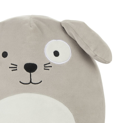 Balvi Cuscino Woof! Colore Grigio Forma di cane soffice e morbido Poliestere