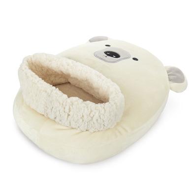 alvi Scaldapiedi Polar Colore bianco Mantieni i tuoi piedi caldi Involucro morbido e confortevole co