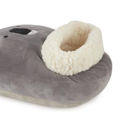 alvi Scaldapiedi Koala Colore grigio Mantieni i tuoi piedi caldi Involucro morbido e confortevole co