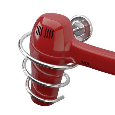 alvi Soporte secador pelo Curl Soporte universal de pared Incluye accesorios de montaje para pared M