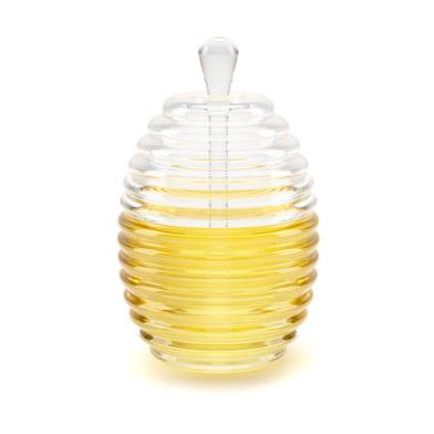 Balvi - Recipiente miel Honeycomb acrílico