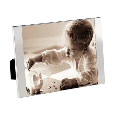 Balvi Marco Padova Color plateado Tamaño de foto: 20x25cm Para sobremesa o para colgar Aluminio