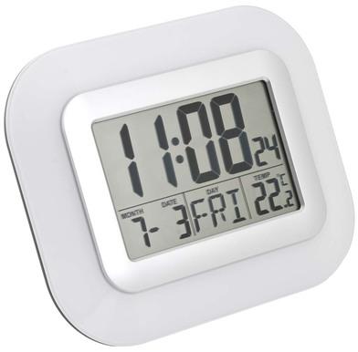 Balvi - Reloj&Despertador Impact LCD blanco 2xAA