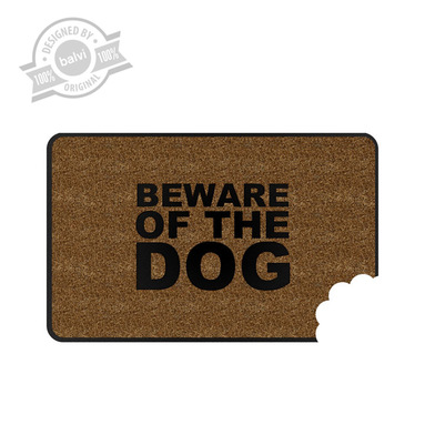 Balvi Felpudo Beware of Dog  Goma/nylon 45 x 72 cm