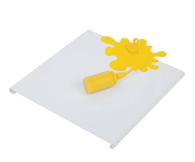 Balvi - ?Servilletero Mustard Spill metal/silic