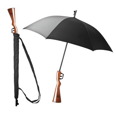 Balvi - Wanted paraguas con forma de rifle