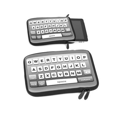 Balvi - Funda iPad Modern Type negro