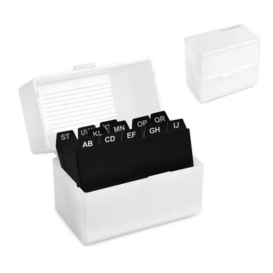 alvi Tarjetero Search & Find Clasificador de tarjetas de presentación Tamaño mini Plástico 10 x 11,6