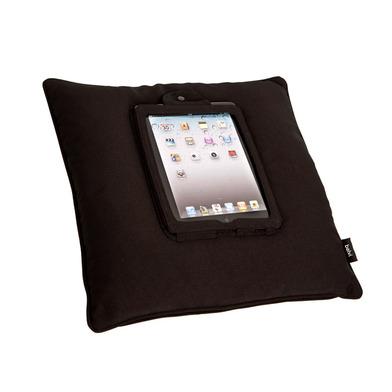 Balvi - Cojín para tablet iCushion negro poliéster