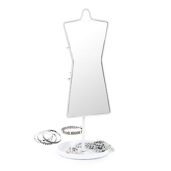 Balvi - Espejo sobremesa Sissi joyero metal