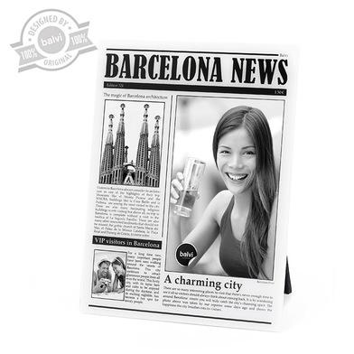 Balvi - Marco Barcelona News acrílico