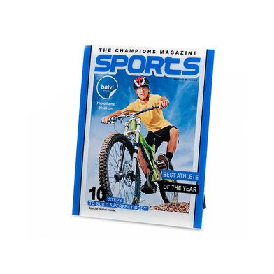 alvi Marco Sports Color azul marco de fotos originales Diseño deportivo ciclismo para pared y sobrem