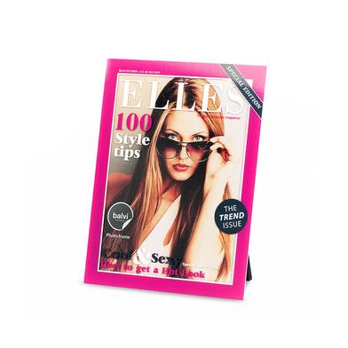 alvi Marco Elles Color rosa marco de fotos originales Diseño revista moda para pared y sobremesa Acr