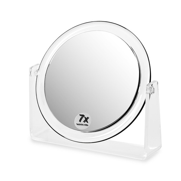 Balvi - Espejo baño Vanity 7x redonda acrílico