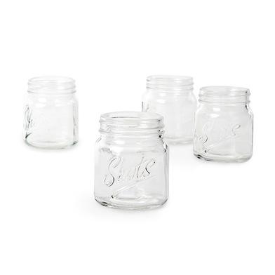 Balvi - Vaso chupito Mason Jar x4 vidrio