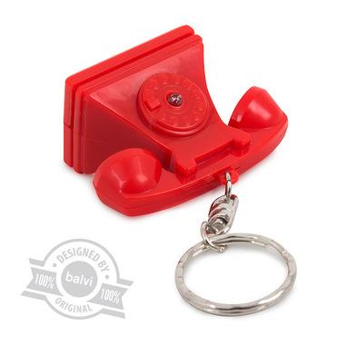 alvi Key ring & key finder Riing Red colour key finder Key Finder Original in the shape of a red vin