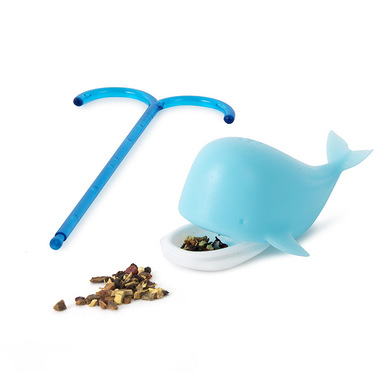 alvi Blue Whale Tea Infuser Blue whale tea filter Original whale tea filter Reusable Silicone 12,5x5