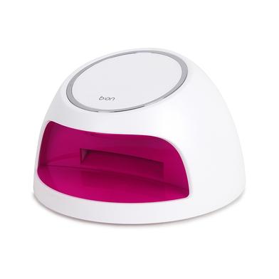 alvi Secador de uñas Windy Color blanco lampara UV, lámpara uñas portátil sin enchufe Luz antibacter