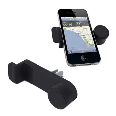 alvi Soporte teléfono móvil Octopus Color negro Soporte móvil para el coche Compatibilidad amplia Po