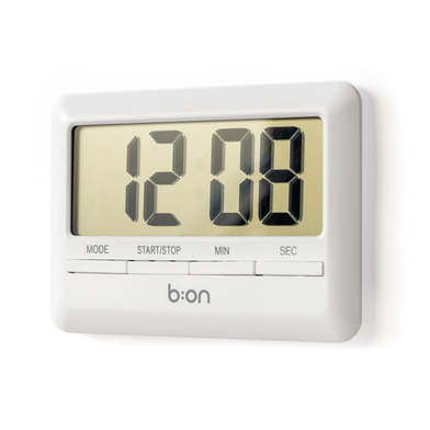 alvi Minute hand & Combi clock Colour white Kitchen timer Countdown marked in both minutes and secon