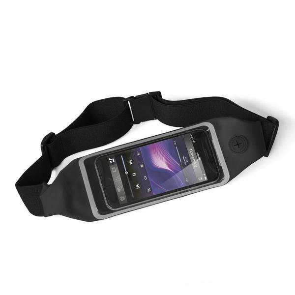 alvi Riñonera táctil deporte Run&Touch Color negro Riñonera running para móvil Táctil, para usar el