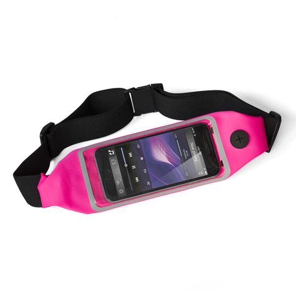 alvi Riñonera táctil deporte Run&Touch Color rosa Riñonera running para móvil Táctil, para usar el t
