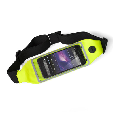 alvi Riñonera táctil deporte Run&Touch Color amarillo Riñonera running para móvil Táctil, para usar