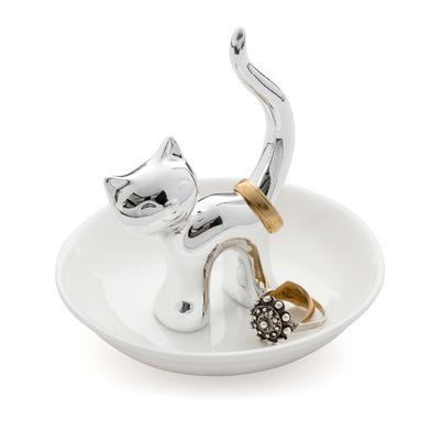 Balvi - Gatto porta anillos de cerámica
