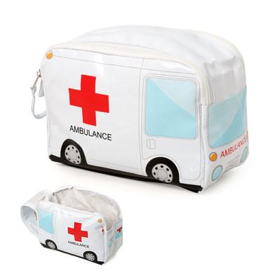 alvi Estuche medicamentos Ambulance Color blanco Neceser de medicamentos para poder incluir botiquin